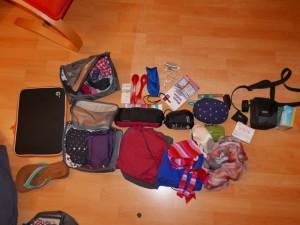 Reisegepäck Maria