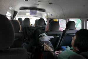Gepäck ist unüblich bei Langstreckenreisen