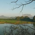 Hpa-An Fluss Panorama