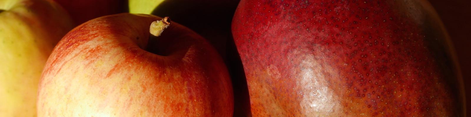 Apfel trifft Mango