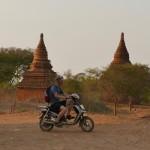Bagan mit dem E-Bike